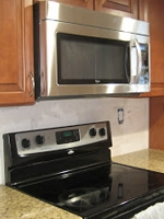 Mixed Trades - microwave install