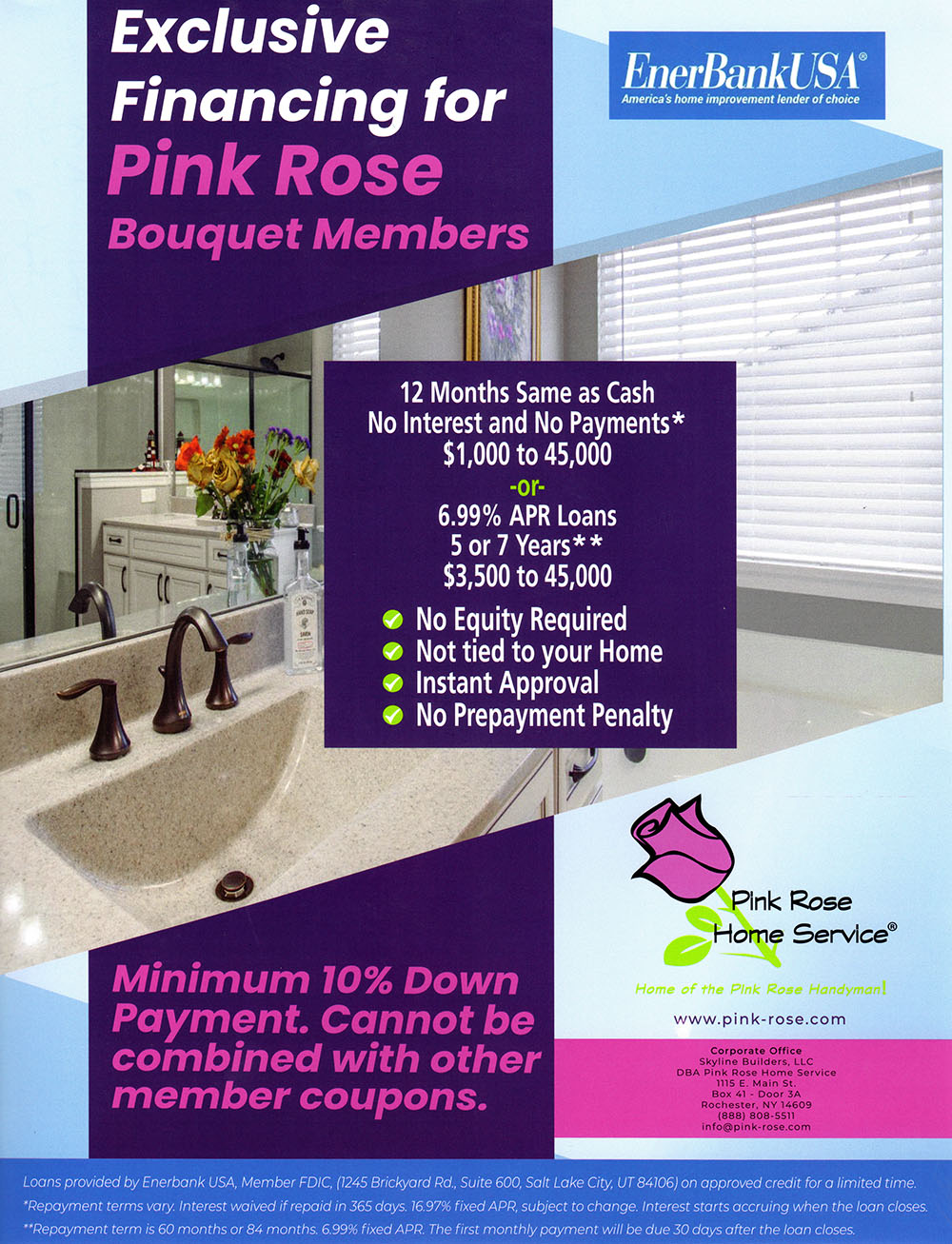 Pink Rose Financing