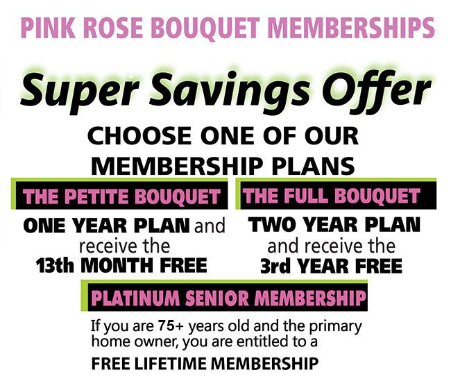 Pink Rose Bouquet Club